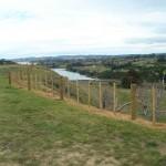 Hilltop fenced